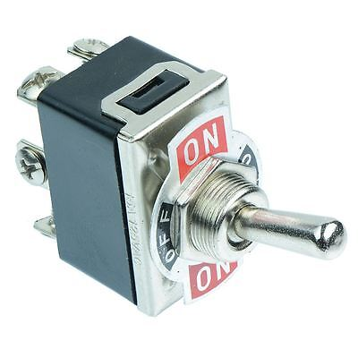On-Off-On Toggle Switch Screw Terminals 10A 250VAC DPDT