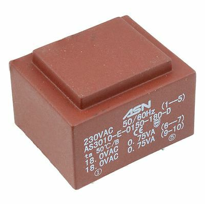 0-6V 0-6V 1.5VA 230V Encapsulated PCB Transformer