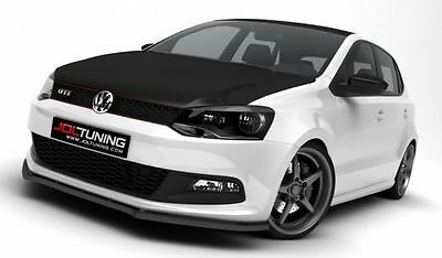 Cup Spoilerlippe Front Diffusor Schwarz VW POLO MK5 GTI