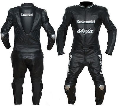 Mens Pro Motorbike Leather Suit Sports Racing Motorcycle Leather Suit All Size