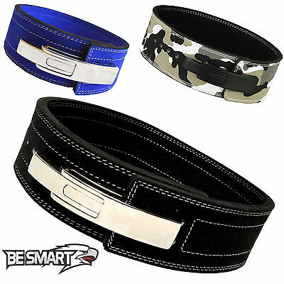 Lever Belt Leather Weight Lifting Power Belt Dead Lifting Belt Back Support