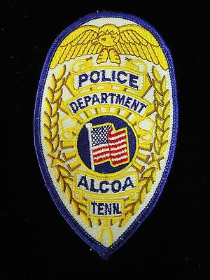 Alcoa TN Police, TENN Tennessee Law Enforcement Large Shoulder Patch - NEW
