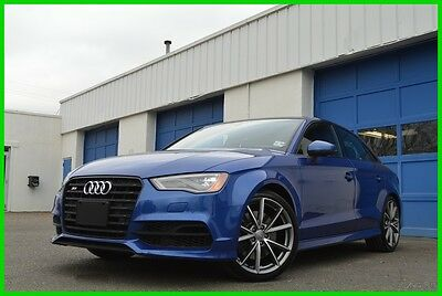2016 Audi S3 S3 Quattro AWD 2.0T Premium Plus Warranty Loaded Technology Navigation Power Moonroof Blind Spot Monitor STronic Sport Seats More