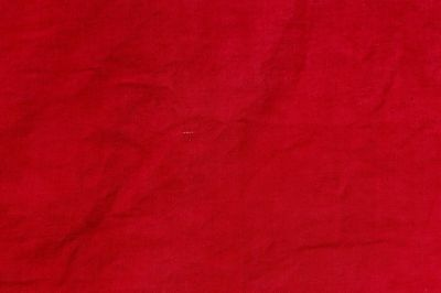 Antique Rare French Turkey Red Cotton Fabric c15870-1880~Quilts,Doll's Clothing