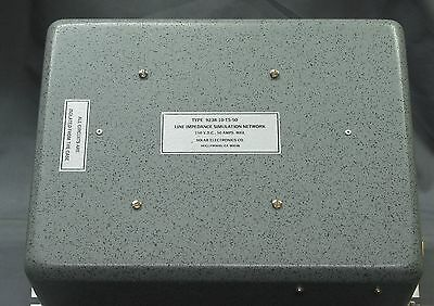 Solar Electronics 9238-10-TS-50 Line Impedance Stabilization Network, 10uH 50A