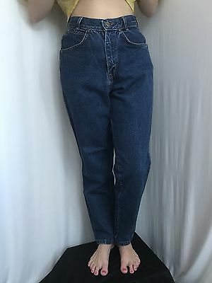 Vtg Chic High Waisted Tapered  Leg Size 6p Made In USA Jeans