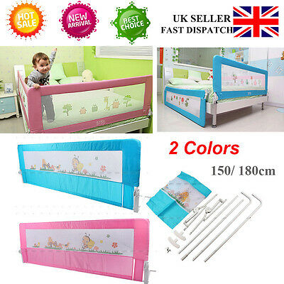 Portable Child's Toddler's Bed Rail Guard Rail Safety Rail Sleep Guard 2 Colors