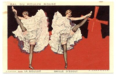 The Greedy. Sewer Grid. Dancer Of Cancan Popular The Mill Red A Paris