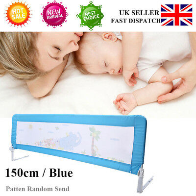 150cm Blue Baby Child Toddler Bed Rail Safety Sleep Protection Guard Sale Price