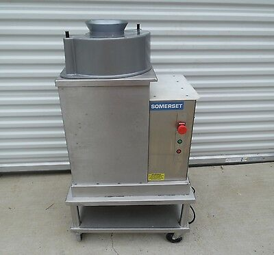 Slightly Used Hard to Find Somerset Dough Rounder SDR-400T with Cart
