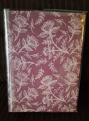 100 Picture Book Bound Photo Album ( Rosey Flower Print)