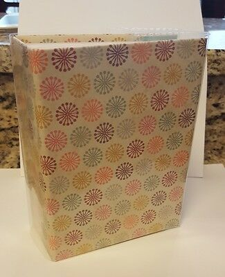 100 Book Bound Picture Photo Album (Firework Design) Extremely Fast USA Shipping