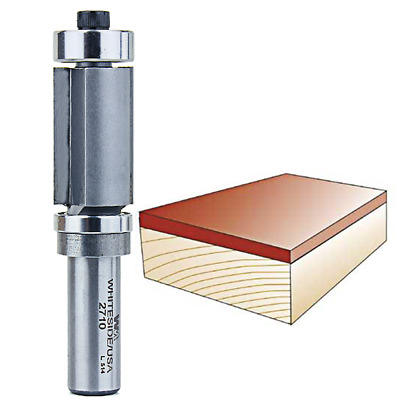 Whiteside #2710 Combination Flush Trim Router Bit with Top and Bottom Bearings