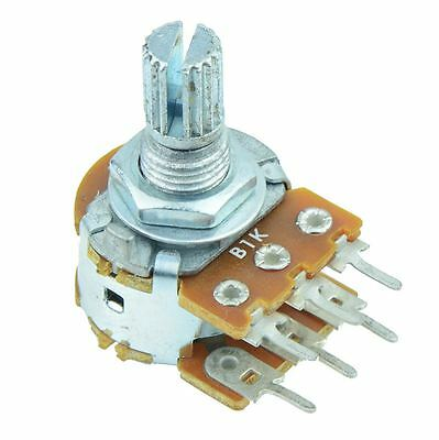 1m Linear 16mm Stereo Splined Potentiometer Pot