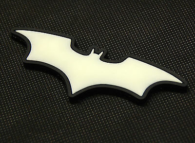 The Dark Knight Batman 3D PVC Glow In The Dark GITD SWAT Rubber Patch VELCRO®