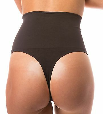 US Women Slim High Waist Trainer Tummy Control Body Shaper Thong Panty Shapewear