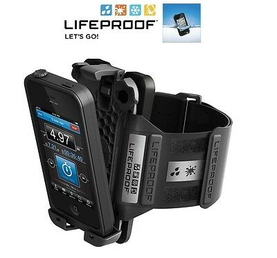 LifeProof Armband for Apple iPhone 4 4s Black ARM BAND NEW OEM