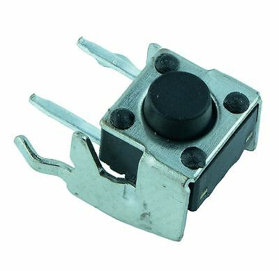 50 x 6x6mm Right Angle Momentary PCB Tactile Switch 4.3mm