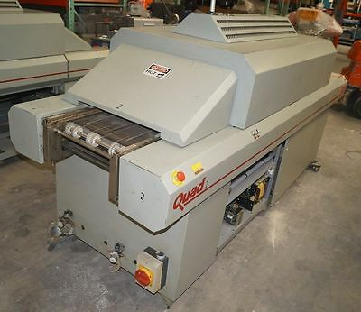 Quad Zcr 941C Solder Reflow Oven With Both Mesh Belt And Edge Rail