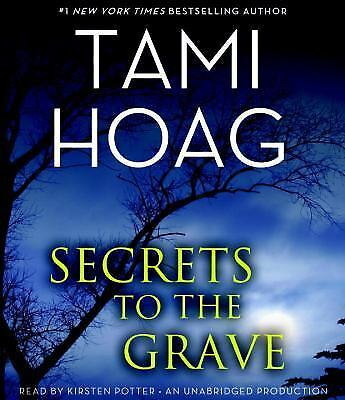 Secrets To The Grave by Tami Hoag CD Audio Book 11 discs 14 hours, Unabridged