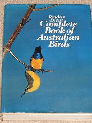 Reader's Digest Complete Book Of Australian Birds Hard Back Dust  Cover First Ed