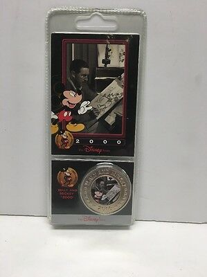 The Disney Decade Coins 2000 Walt And Mickey #55