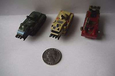 "Micro Machines Military collection Lot of 3 Tanks ""EXCELLENT CONDITION!!"""