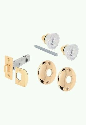 Prime-line E2317 Passage Door Latch Glass Knob Set with Latch Bolt New