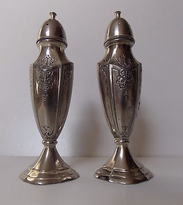 Vintage Cruet Set Unknown Makers Mark to Base Pewter Colour  NOW HALF PRICE !