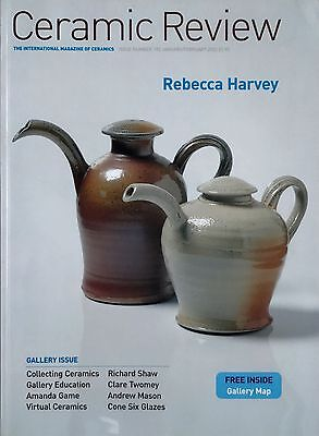 Ceramic Review Magazine 2002 complete set, good condition