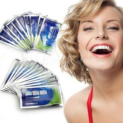 14Packs Teeth Whitening Strips Professional 14 Bandes Blanchissantes dent