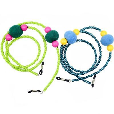 Colorful Beaded Sunglass Reading Glasses Eyeglasses Chain Cord Holder Rope