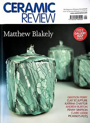 Ceramic Review Magazine 2010 complete set, good condition