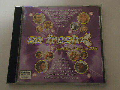 CD So Fresh The Hits Of Spring 2003 (Acceptable Condition)