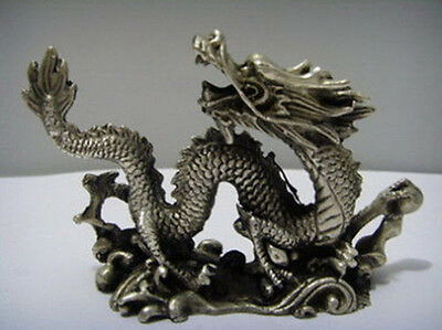 East Refind HAND Chinese Copper Carved China Lucky Dragon Statues