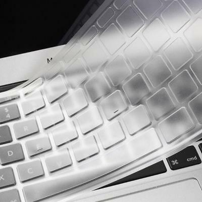 For MacBook Air 12 inch Clear Keyboard Cover Silicone Skin Europe Layout UK Vers