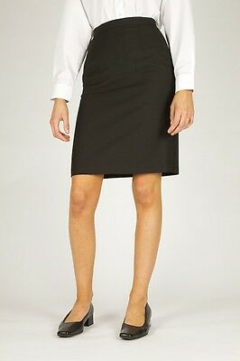Navy Trutex Skirt School Work Pencil Straight Skirt