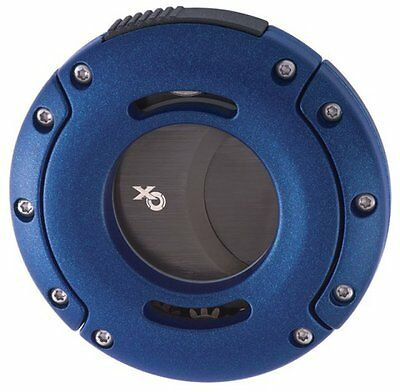 Xikar XO Double Guillotine Cigar Cutter Blue - 403BL (NEW ITEM)