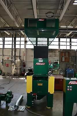 Foremost HD-5B Plastics Granulator 16x20 30 HP Bottle Grinder with Blower Uniloy