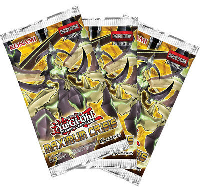 Yu-Gi-Oh! Maximum Crisis Booster (Pack of 3)