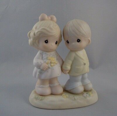 1996 Precious Moments You're Forever In My heart Figurine 139548 Loose