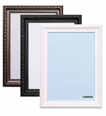Photo Picture Frame Panoramic Poster Frame Shabby Chic Black White Gunmetal