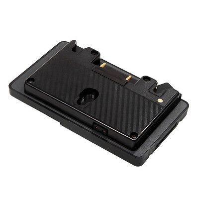 Gold Mount to V Mount Battery Adapter Plate Converter with D-tap Port for P V1N5