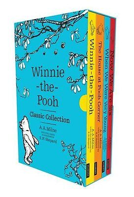 Winnie-the-Pooh Classic Collection New Paperback Book A. A. Milne, E. H. Shepard