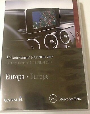 mercedes benz navigation garmin map pilot sd karte 2017. Black Bedroom Furniture Sets. Home Design Ideas