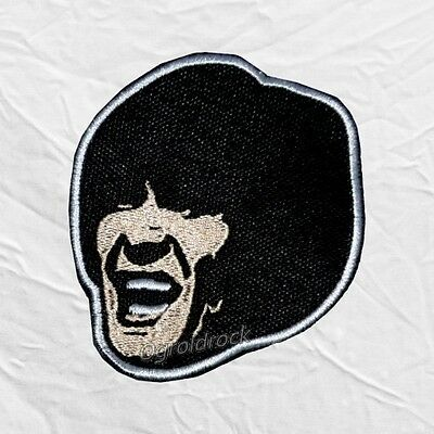 The Beatles George Harrison Help! Face Embroidered Patch John Lennon Ringo Paul