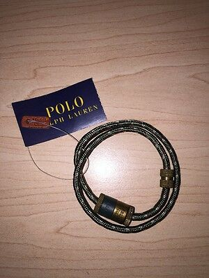 Ralph Lauren Polo Bracelet NWT Blue Label Wrist Band Belt Army