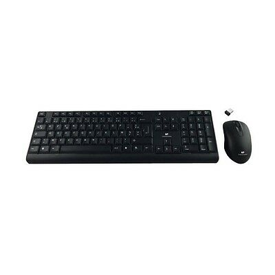 CONTINENTAL EDISON Pack clavier et souris sans fil Wireless 2.4GhZ