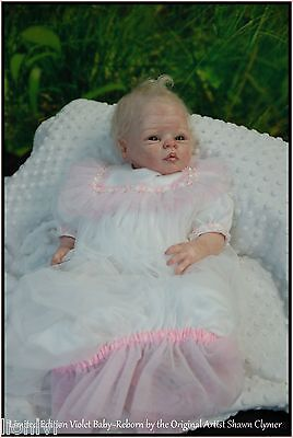 WOW~Violet BABY LE 200 WW BLANK parts Reborn KIT by Clymer Creations GR8 Price