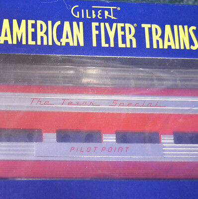 S Gauge American Flyer #6-49956 - KATY Texas Special Full Length Dome Car - New